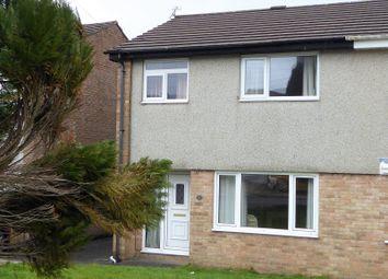 Thumbnail 3 bed semi-detached house for sale in Llys Y Fran, Llangewydd Court, Bridgend.