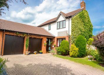 Thumbnail 4 bedroom detached house for sale in Spoonley Wood, Milton Keynes