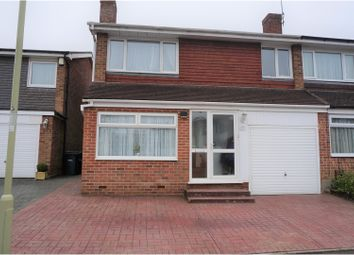 Thumbnail 4 bedroom semi-detached house for sale in Alameda Way, Waterlooville