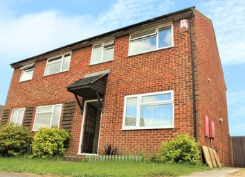 Thumbnail 3 bed semi-detached house to rent in Derwent Rise, Flitwick