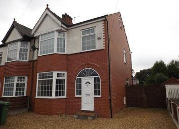 Thumbnail 3 bed semi-detached house for sale in Barton Road, Stretford, Manchester, Greater Manchester