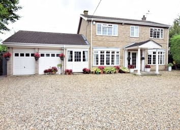 Thumbnail 4 bed detached house for sale in Brandon Road, Watton, Thetford