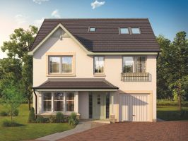 Thumbnail 5 bed detached house for sale in The Fullarton, Calder Street, Coatbridge, North Lanarkshire