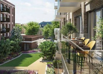 Thumbnail 1 bed flat for sale in The Georgette North, The Silk District, London