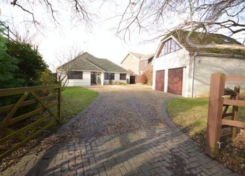 Thumbnail 3 bed detached bungalow for sale in Frogmore Lane, Waterlooville