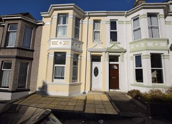 Thumbnail 3 bed terraced house for sale in Glendower Road, Peverell, Plymouth, Devon