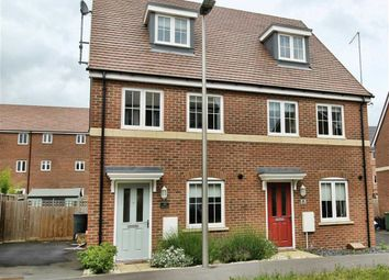 Thumbnail 3 bedroom semi-detached house to rent in Guyana Lane, Newton Leys, Bletchley, Milton Keynes