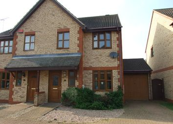 Thumbnail 3 bed semi-detached house to rent in Benacre Croft, Tattenhoe