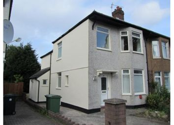 Thumbnail 3 bed semi-detached house for sale in Broad Street, Leckwith