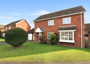 Thumbnail 4 bedroom detached house for sale in Clive Hall Drive, Longstanton, Cambridge