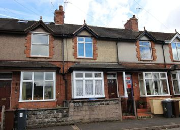 Thumbnail 3 bed terraced house for sale in Shirley Street, Leek, Staffordshire
