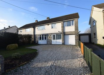 Thumbnail 5 bed semi-detached house for sale in High Street, Portbury, Bristol