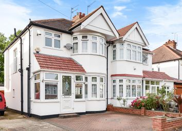 Thumbnail 3 bed semi-detached house for sale in North Harrow, Middlesex