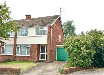 Thumbnail 3 bed semi-detached house for sale in Chartwell Close, Ipswich