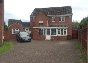 Thumbnail 5 bed detached house to rent in Kelling Close, Luton, Beds