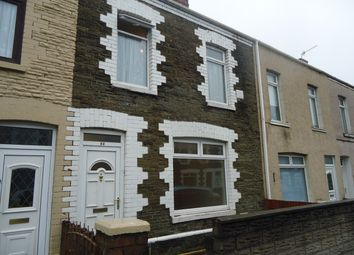 Thumbnail 3 bed terraced house to rent in Mansel Street, Port Talbot