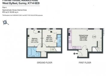 Thumbnail 2 bed flat to rent in Station Approach, West Byfleet
