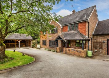 Thumbnail 5 bed detached house for sale in Highcroft, Shamley Green, Guildford, Surrey