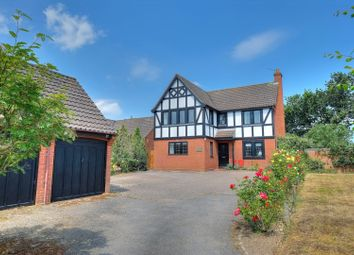 Thumbnail 4 bed detached house for sale in Abbot Road, Norwich