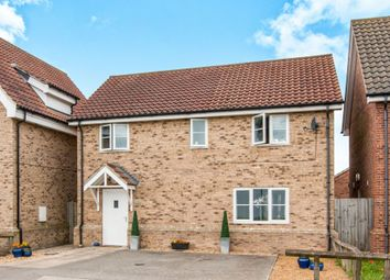 Thumbnail 4 bedroom detached house for sale in Aspal Lane, Beck Row, Bury St. Edmunds