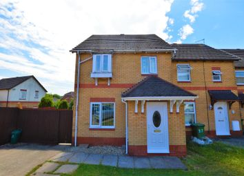 Thumbnail 3 bed end terrace house for sale in Cwrt Y Garth, Beddau, Pontypridd