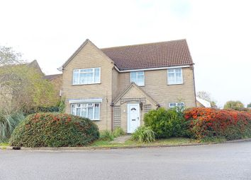 Thumbnail 5 bed detached house for sale in Church Street, Yaxley, Peterborough, Cambridgeshire.