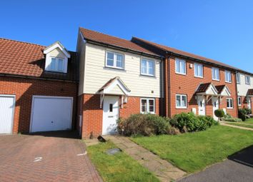 Thumbnail 3 bed end terrace house for sale in Ridley Close, Hawkinge