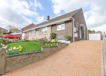 Thumbnail 2 bed semi-detached bungalow for sale in Healey Wood Road, Rastrick, Brighouse