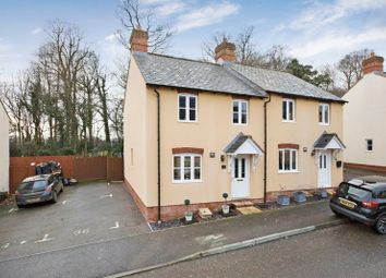 Thumbnail 2 bedroom semi-detached house for sale in Highland Park, Uffculme, Cullompton