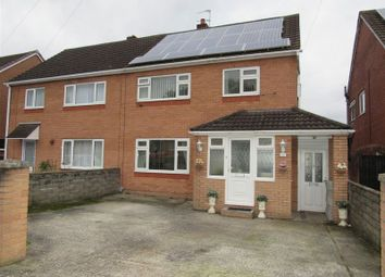 Thumbnail 3 bedroom semi-detached house for sale in Heol Carnau, Ely, Cardiff