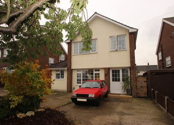 Thumbnail 3 bed detached house to rent in Woodside Avenue, Benfleet, Essex