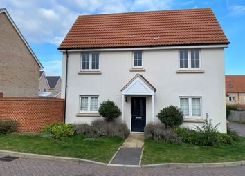 3 bed link-detached house for sale in Crossbill Road, Stowmarket IP14