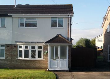 Thumbnail 3 bed semi-detached house to rent in Lapwing Avenue, Caldicot
