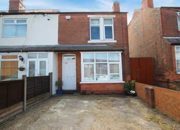 Thumbnail 2 bed terraced house for sale in Burgass Road, Nottingham