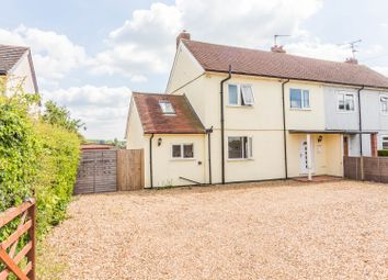 Thumbnail 3 bed semi-detached house for sale in Mortimer Road, Grazeley, Reading