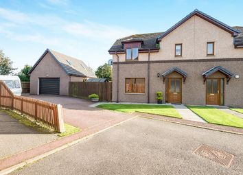 Thumbnail 3 bed semi-detached house for sale in East Newfield Park, Alness