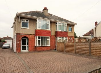 Thumbnail 3 bed semi-detached house for sale in Fareham Road, Gosport