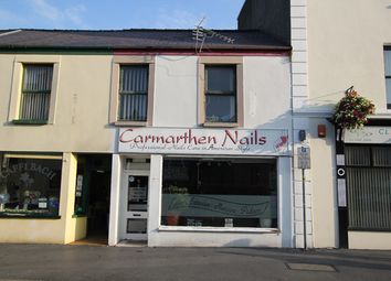 Thumbnail Retail premises to let in Lammas Street, Carmarthen, Carmarthenshire