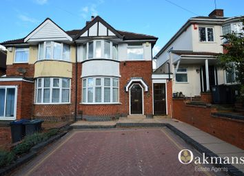 Thumbnail 3 bed semi-detached house for sale in Durley Dean Road, Birmingham, West Midlands.