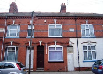Thumbnail 2 bed terraced house to rent in Tudor Road, Leicester