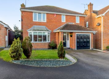 Thumbnail 4 bed detached house for sale in Meadow Grove, Newark, Nottinghamshire