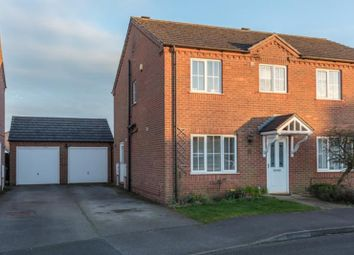 Thumbnail 3 bed semi-detached house for sale in Nursery Close, Dunholme, Lincolnshire