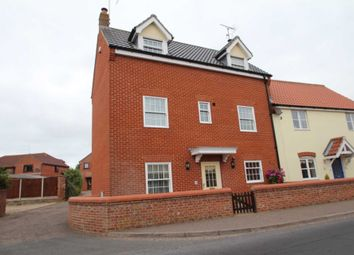 Thumbnail 4 bed semi-detached house for sale in Old Foundry Court, Old Road, Acle, Norwich
