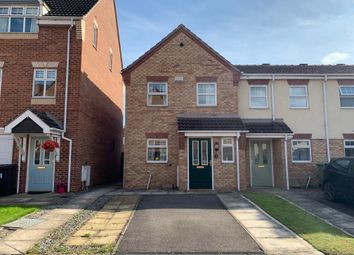 Thumbnail 3 bedroom town house for sale in Foyers Way, Chesterfield, Derbyshire