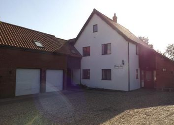 Thumbnail 5 bed detached house for sale in Mellis, Suffolk