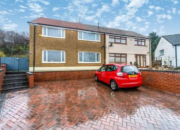 Thumbnail 4 bed semi-detached house for sale in Billingham Crescent, Merthyr Tydfil