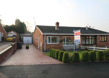 Thumbnail 3 bedroom semi-detached bungalow for sale in Netherton Grove, Milton, Stoke-On-Trent