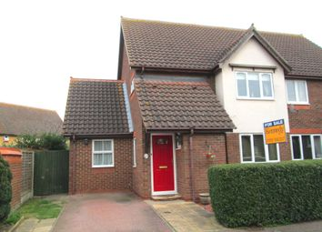 Thumbnail 3 bed semi-detached house for sale in Falcon Close, Sandy