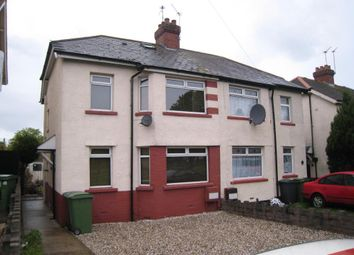 Thumbnail 3 bedroom property to rent in Channel View Road, Grangetown, Cardiff
