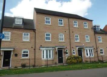 Thumbnail 4 bed town house for sale in Hedge Lane, Witham St. Hughs, Lincoln